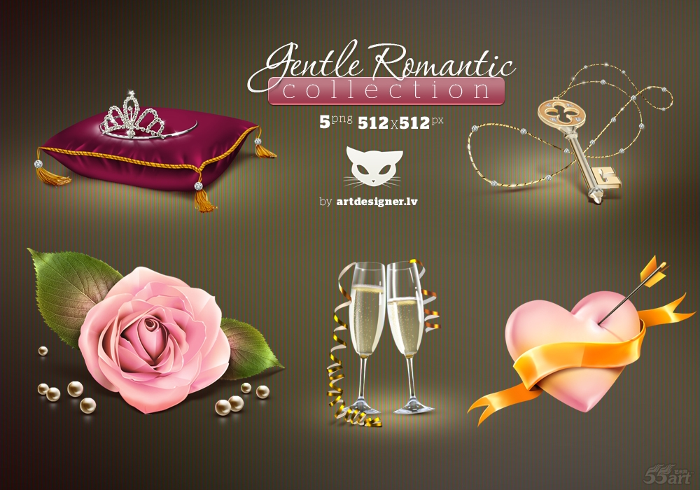 Gentle_Romantic_icons_by_LazyCrazy.jpg