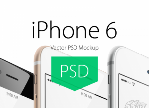 iPhone-6-Plus-Angle-View-Mockup(iPhone6展示模型PSD文件)