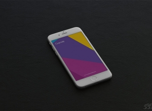 5 Free iPhone 6 Mockups 展示图源文件